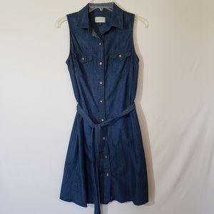 Universal Threads Sleeveless Denim Dress